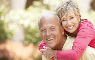 happy cosmetic dentistry patients