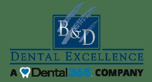 B & D Dental Excellence – A Dental365 Company Logo