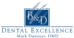 B & D Dental Excellence Logo